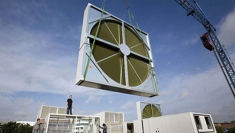 Energy Heat Recovery Wheel : Rotary heat exchangers klingenburg usa llc